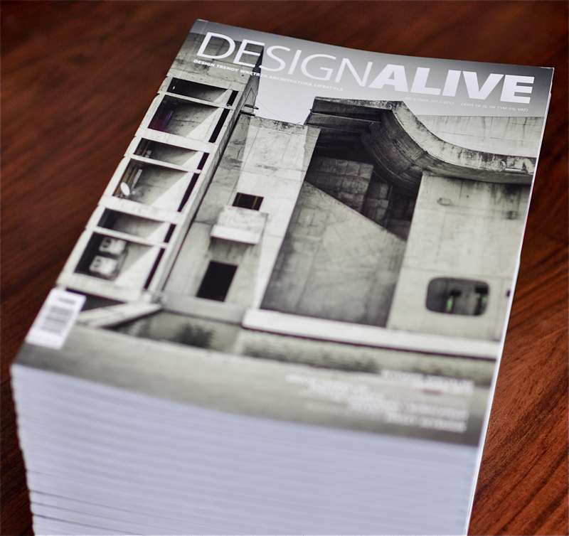 """Konkurs! Wygraj prenumeratę magazynu """"Design Alive"""""""
