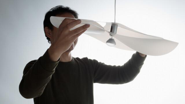 Gravity Light – światło jak z kartki papieru