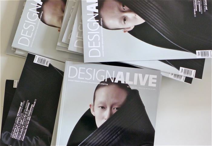 """Jesienny numer """"Design Alive"""" już w sprzedaży"""