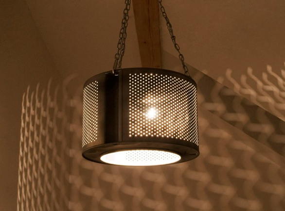 Za lampę