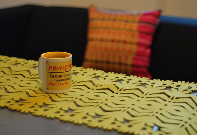 Na zwycięzców czeka również poduszka Kwiat Paproci 2, wraz z bieżnikiem w kolorze limonki. fot. Wojciech Trzcionka