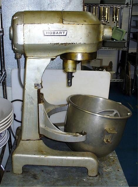 Wczesne modele robotów kuchennych nieco różniły się od dzisiejszych. fot. ARC