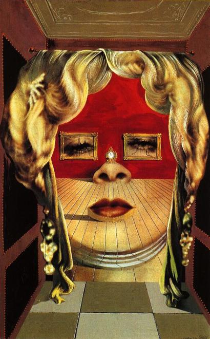 Sofa pewnie by nie powstała, gdyby nie portret pewnej aktorki, stworzony przez Salvadora Dali. fot. ARC