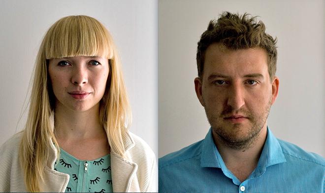 arta Niemywska i Dawid Grynasz. fot. ARC