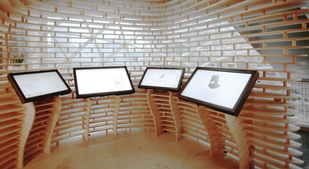 Na stoisku firmy będzie można także skorzystać  z aplikacja Cust stworzonej przez firmę Circus Digitalis. fot. Materiały prasowe