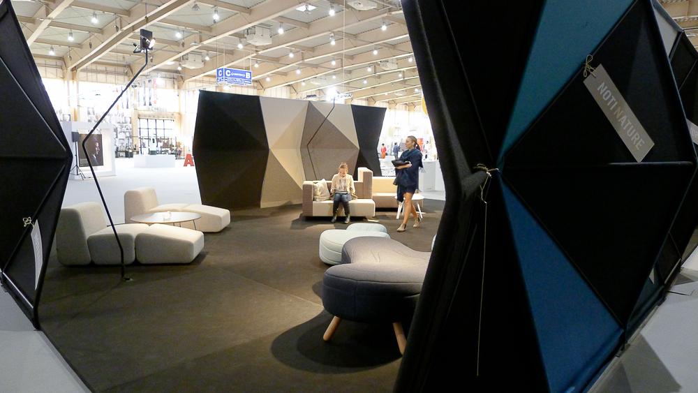 Stoisko firmy Noti - naszym zdaniem najlepiej zaaranżowana przestrzeń wystawiennicza podczas tegorocznej Areny. fot. Wojciech Trzcionka