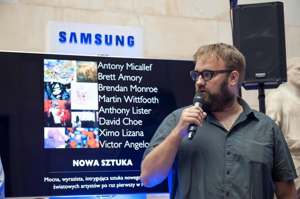 - Zawsze łączyłem świat sztuki z technologią - mówił Ximo Lizana, hiszpański artysta. fot. Materiały prasowe