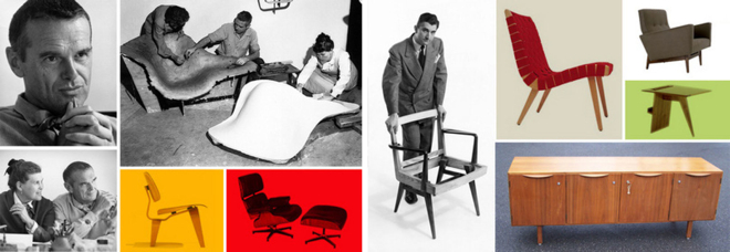 Eames Lounge Chair pierwotnie produkowała firma Hermana Millera. fot. ARC