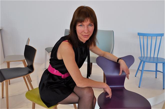- W tym roku postanowiliśmy pokazać spójną markę, prezentującą się w ten sam sposób zarówno w Polsce jak i za granicą - deklarowała Anna Gołębicka, dyrektor marketingu w firmie Paged. fot. Ewa Trzcionka