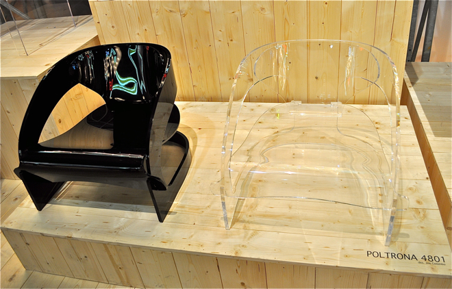 Nowa wersja Armchair 4801 powstała z tworzywa sztucznego. fot. Materiały prasowe