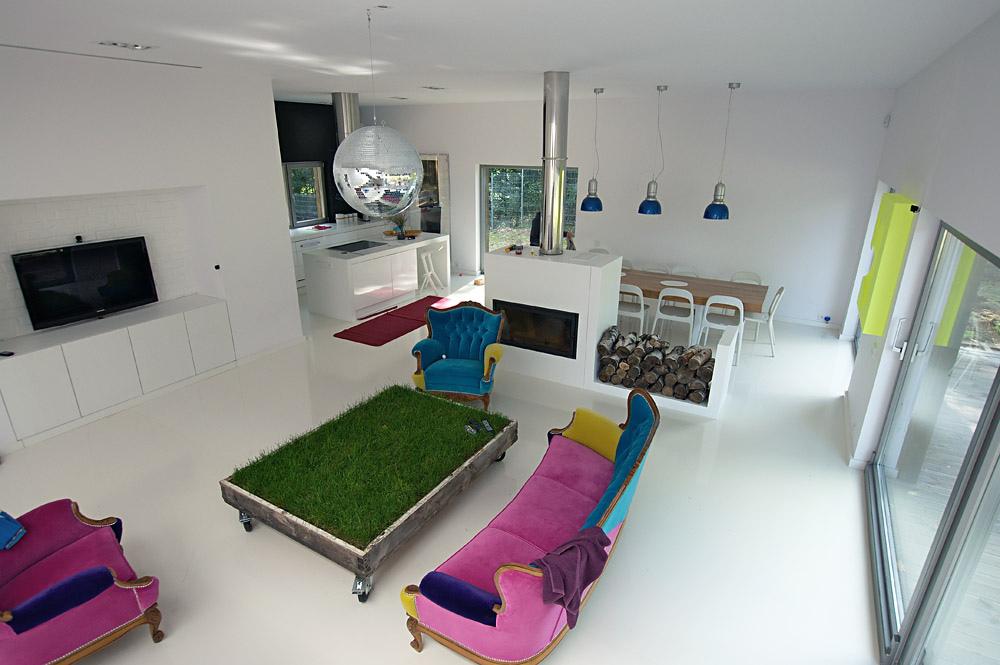 Dawne pomieszczenia otrzymały nowe mieszkalne funkcje. fot. ARC