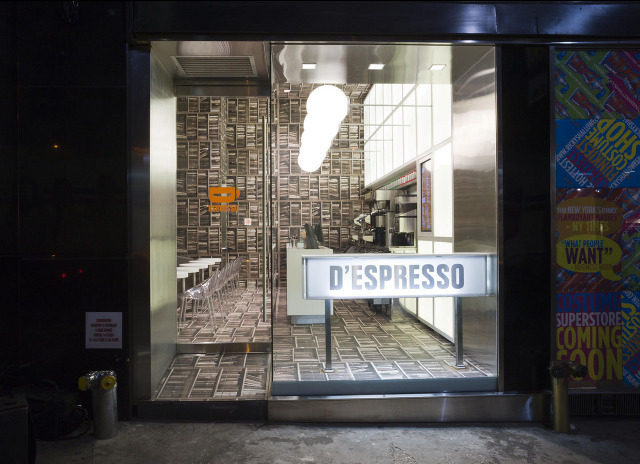 Adres D'Espresso: 317 Madison Avenue (42nd Street). fot. MATERIAŁY PRASOWE
