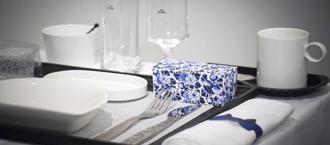 Zastawa stołowa jest niezwykle elegancka. fot. Materiały prasowe