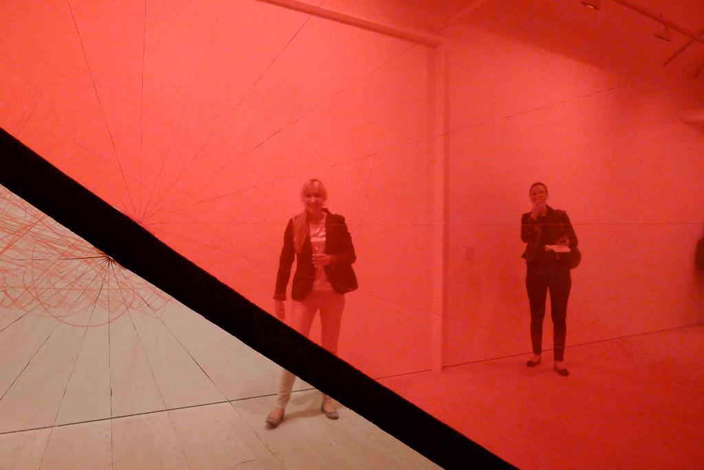 Instalacja Pulse of London przygotowana przez  Marco Barottiego i grupę Plastique Fantastique. fot. Redakcja DA