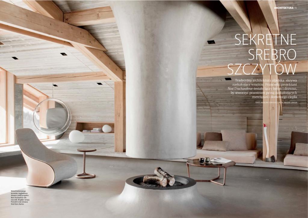 W numerze również spora dawka architektury i wnętrz. fot. Presso Media+Design