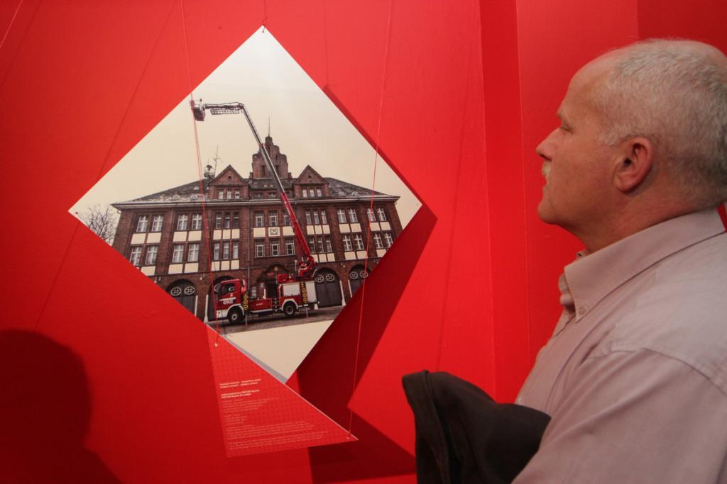Najlepszym produktem powstałym w województwie śląskim w ubiegłym roku okazał się podest pożarniczy PMT25D Skyline. fot. Dominik Gajda