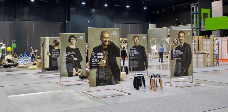 Na targach zaprezentowaliśmy również wystawę dokumentującą zeszłoroczną edycję nagrody. fot. Wojciech Trzcionka