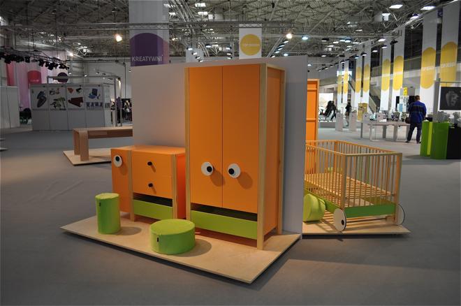 Kolekcja mebli dla dzieci Meee z 2010 roku. fot. Wojciech Trzcionka