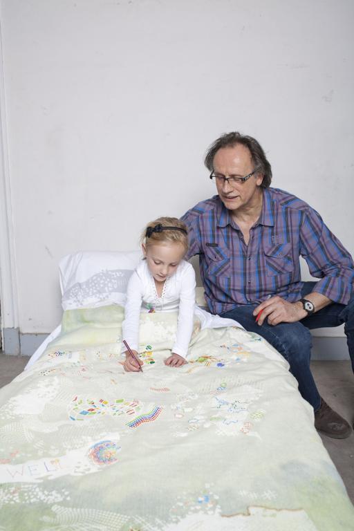 Projekty Jo Szczepanskiej można było zobaczyć na wystawie