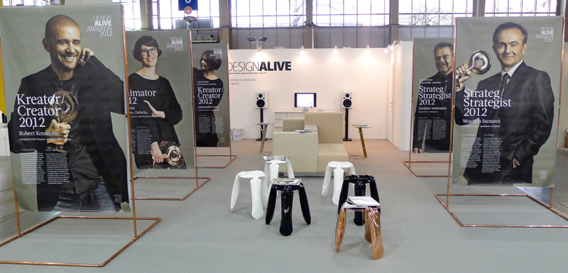 Design Alive Awards Exhibition. fot. Wojciech Trzcionka