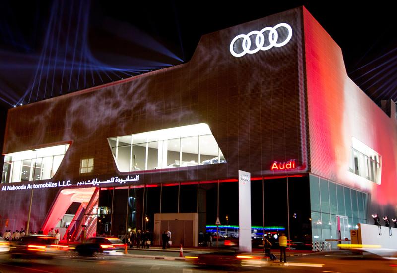 """Audi w """"mieście rekordów"""""""