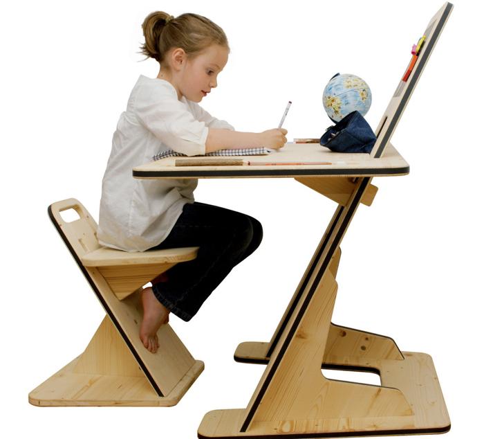Biurko AZ: Rosnąć razem z dzieckiem