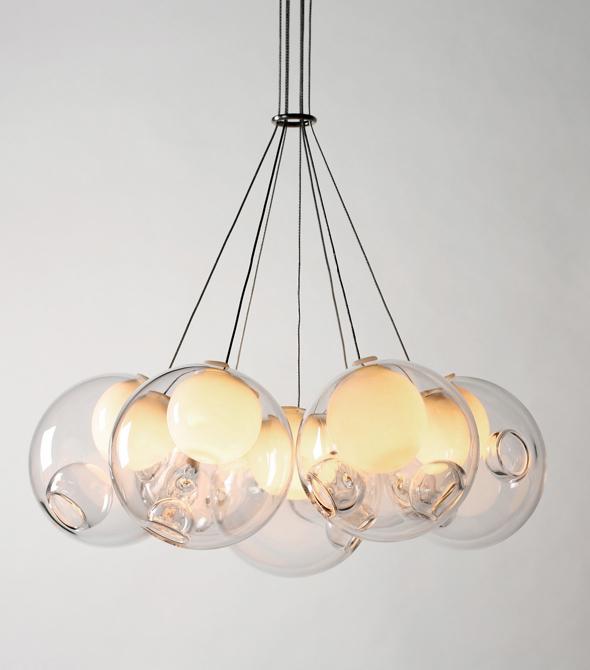Kolekcje Bocci są do kupienia także w Europie. W zależności od ilości kloszy za lampy zapłacimy od kilkuset do kilku tysięcy dolarów. fot. Materiały prasowe