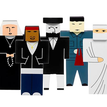 Projektanci stworzyli figurki osób, które na co dzień można spotkać na ulicach Nowego Jorku. fot. ARC
