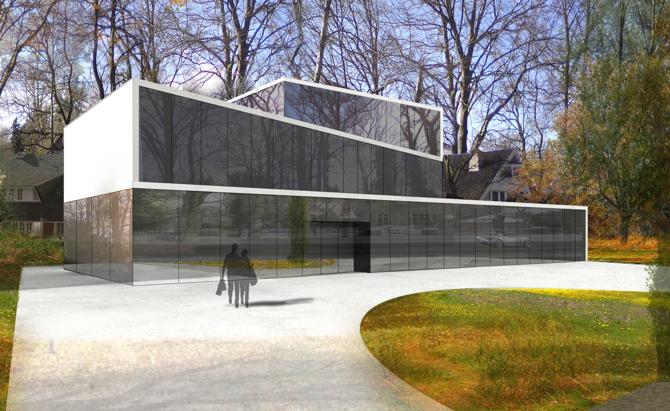 Dużo szkła w Bremie