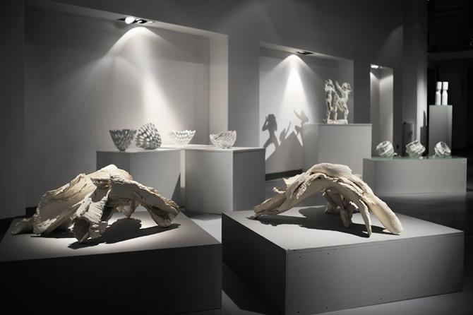 Na wystawie, która podsumowuje wspólne warsztaty, został zaprezentowany wybór prac z lat 2008-2012. fot. Materiały prasowe