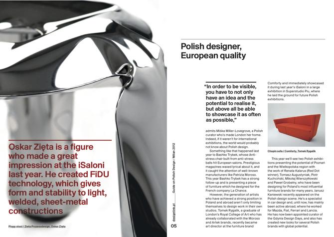 Przewodnik przedstawia złożoną estetyczną i twórczą perspektywę polskiej twórczości.