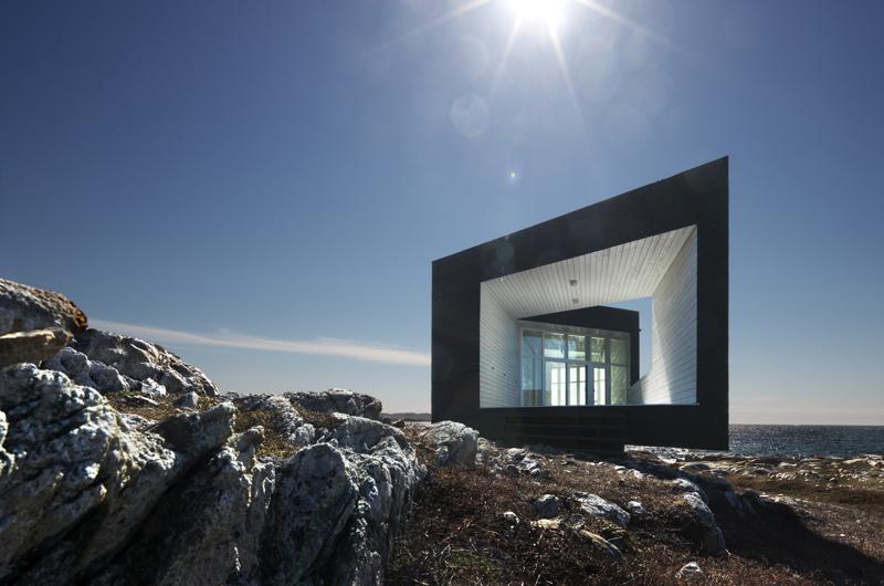 Fogo Island. Architektura wnętrza