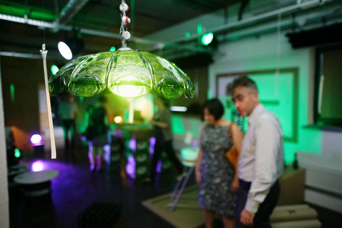 Drugą nagrodę przyznano Adamowi Kruszyńskiemu  za projekt lampy. fot. Materiały prasowe