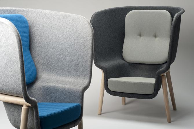 Fotele Pod zaprojektowane dla De Vorm. fot. Materiały prasowe