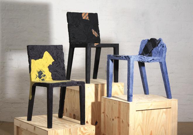 RememberMe, czyli krzesła z ubrań
