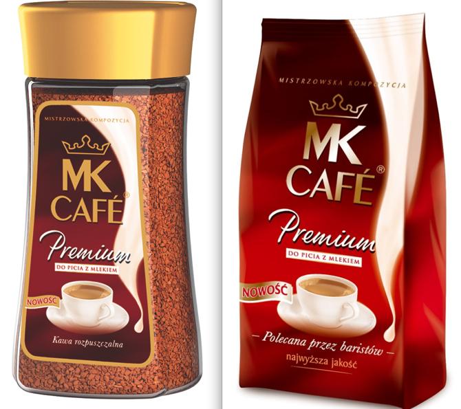 MK Cafe. Pierwsza kawa do picia z mlekiem