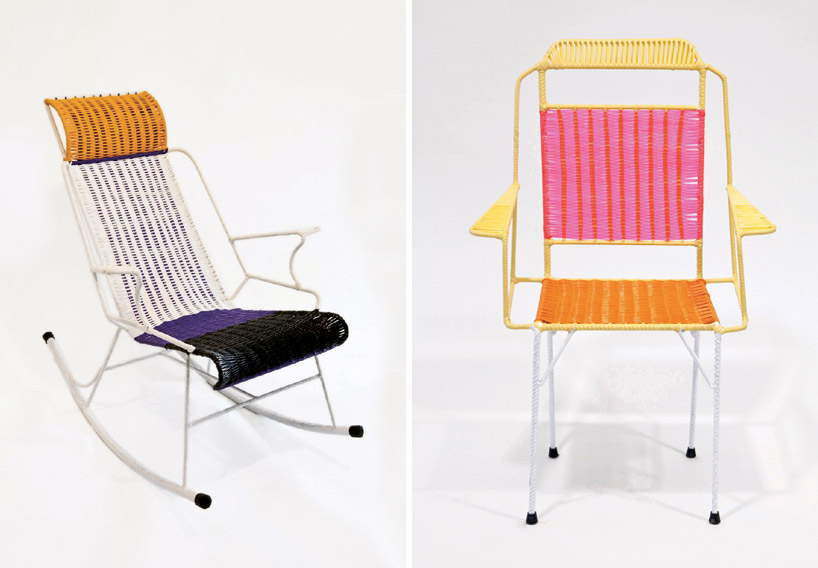 Krzesła wyprodukowano w kolumbijskiej miejscowości San Gil w ramach projektu resocjalizacyjnego. fot. Materiały prasowe