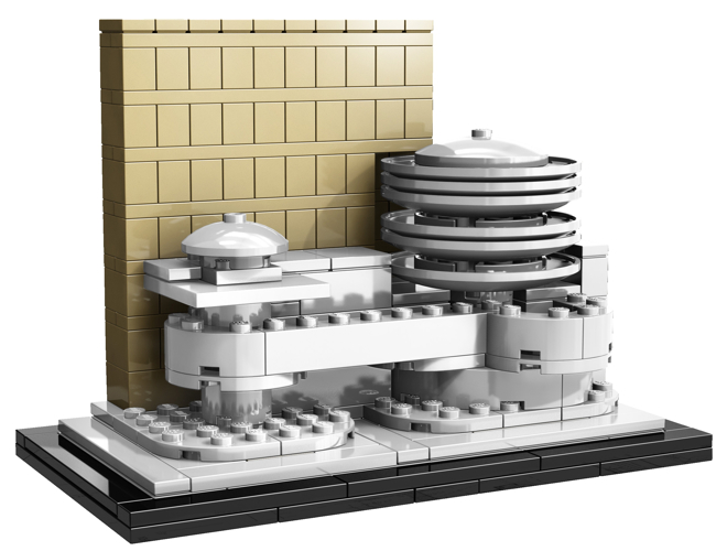 Lego: Prawdziwa architektura utkana z klocków