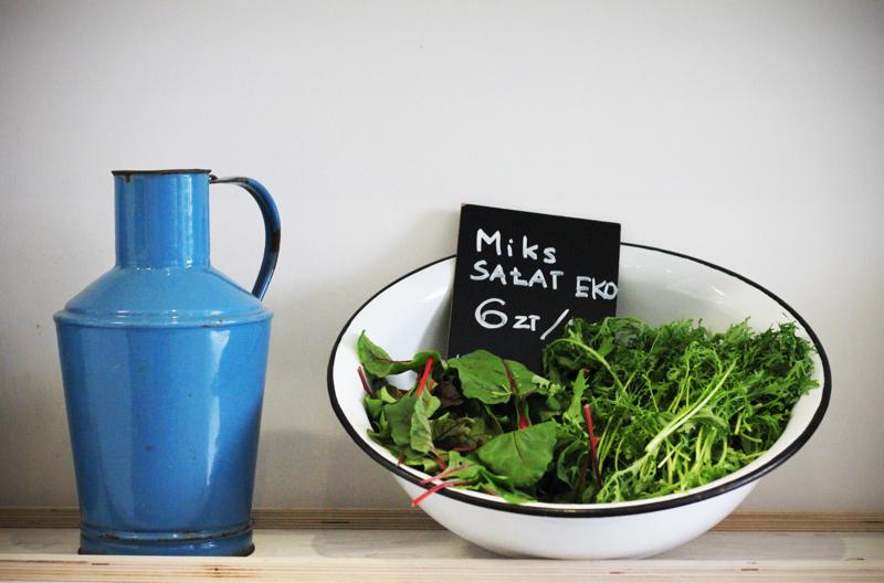 Warzywa pochodzą od zaprzyjaźnionych dostawców.