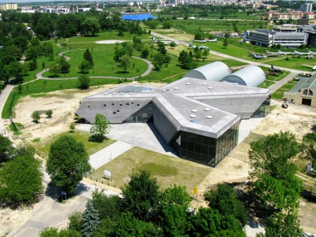 Muzeum Lotnictwa Polskiego w Krakowie - Pysall.Ruge Architekten oraz architekt Bartłomiej Kisielewski. fot. ARC