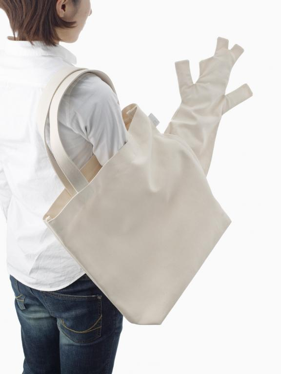 To niecodzienne torby z dodatkową kieszenią. fot. Materiały prasowe