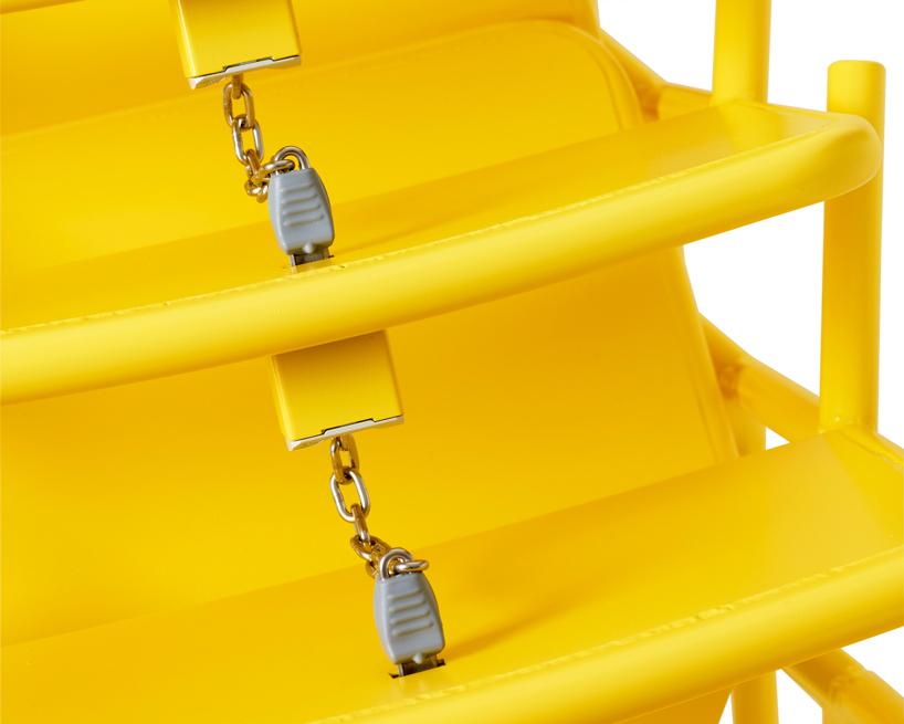 Krzesła zaprojektował Thomas Bernstrand. fot. Materiały prasowe