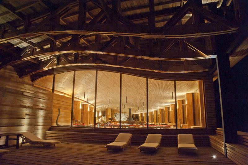 Hotel Tierra Patagonia znajduje się w Chile. Fot. Materiały prasowe