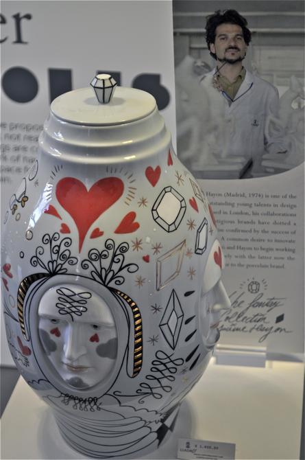 Do sukcesu marki Lladró z pewnością przyczyniła się postać Jaime Hayona, dyrektora artystycznego w firmie. fot. Wojciech Trzcionka