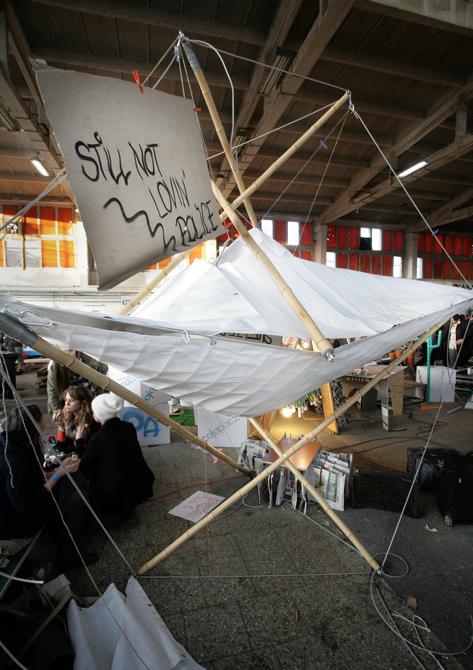 Przetwór roku - projekt Schroniska dla strajkującego. fot. Materiały prasowe