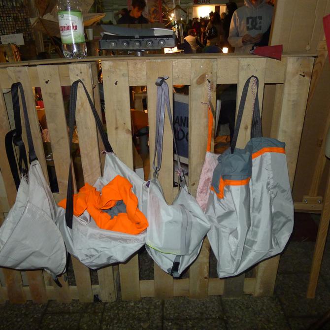 Trzecią nagrodą wyróżniono torby Mam Airbag. fot. Materiały prasowe