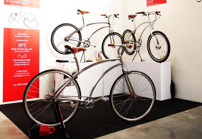 Ręcznie robione rowery z Tajwanu