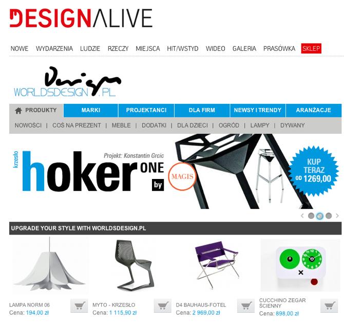 numa.designalive.pl zaprasza na zakupy