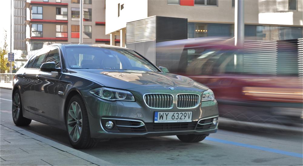 BMW 520d. Radosny luksus
