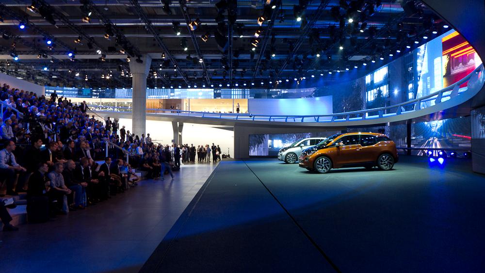 Premiera BMW i3. fot. Wojciech Trzcionka